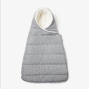 Zara baby fleece baby carrier